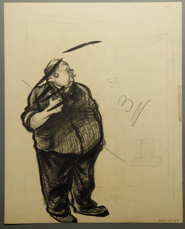 1995.132.67 back Drawing by William Sharp