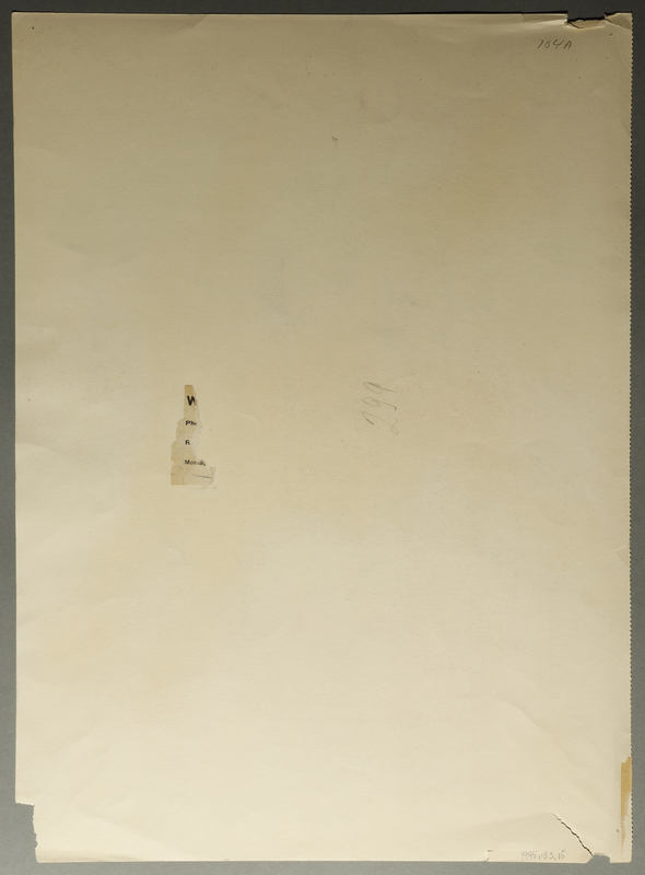 1995.133.15 back Drawing by William Sharp