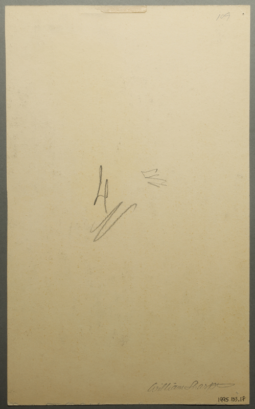 1995.133.17 back Drawing by William Sharp