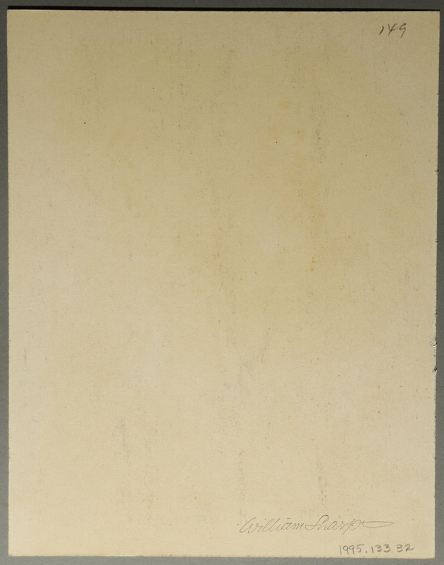 1995.133.32 back Drawing by William Sharp