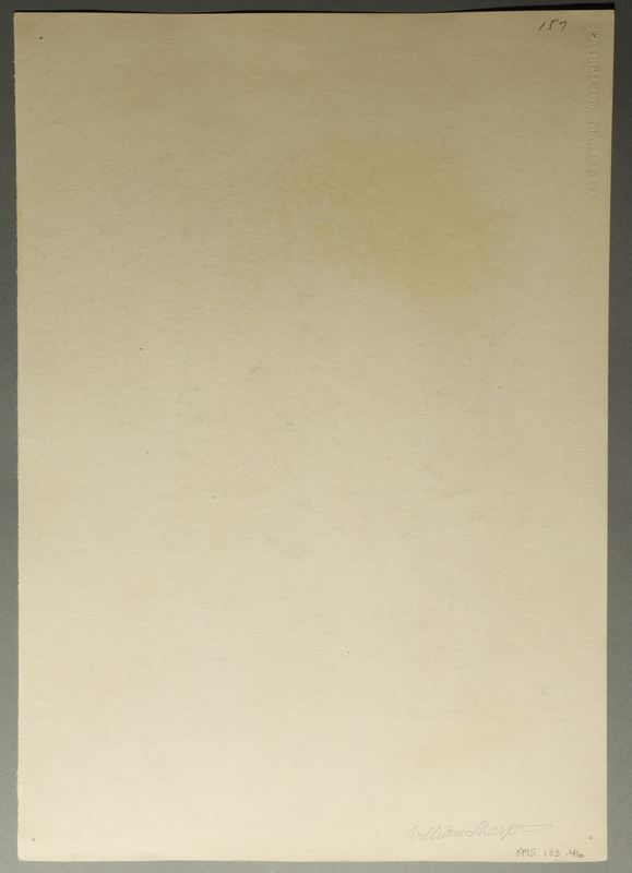 1995.133.46 back Drawing by William Sharp