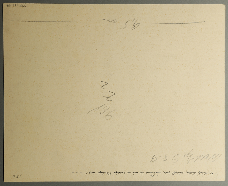 1995.133.47 back Drawing by William Sharp