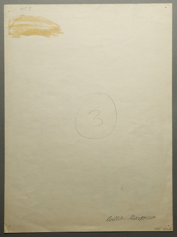 1995.133.5 back Drawing by William Sharp