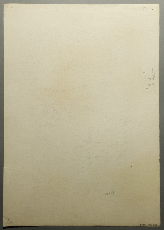 1995.133.50 back Drawing by William Sharp