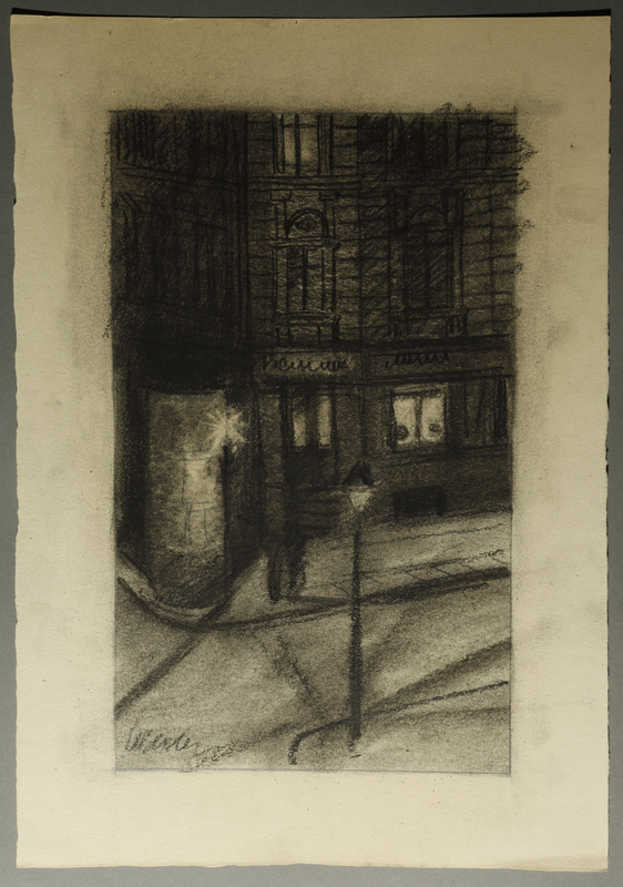 1995.133.60 front Drawing by William Sharp