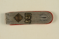 1995.142.11 front Shoulder board with 177  Click to enlarge