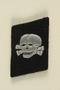 Nazi skull and crossbones badge