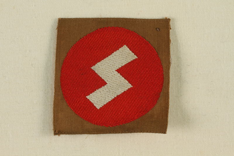1995.142.17 front Nazi SS badge