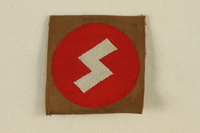 1995.142.17 front Nazi SS badge  Click to enlarge