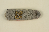 1995.142.9 front Shoulder board with 52  Click to enlarge