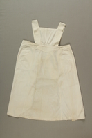 1995.38.1 front Nurse's apron worn in Theresienstadt  Click to enlarge