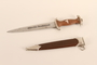 German dagger and sheath acquired by an American soldier
