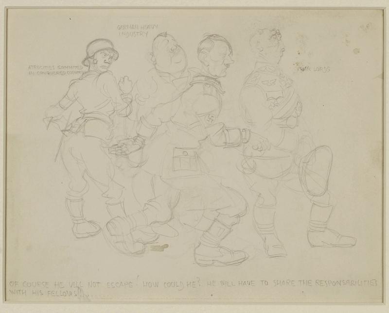 CM_1995.40.26 front Arthur Szyk sketch