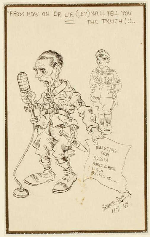 CM_1995.40.27 front Arthur Szyk drawing