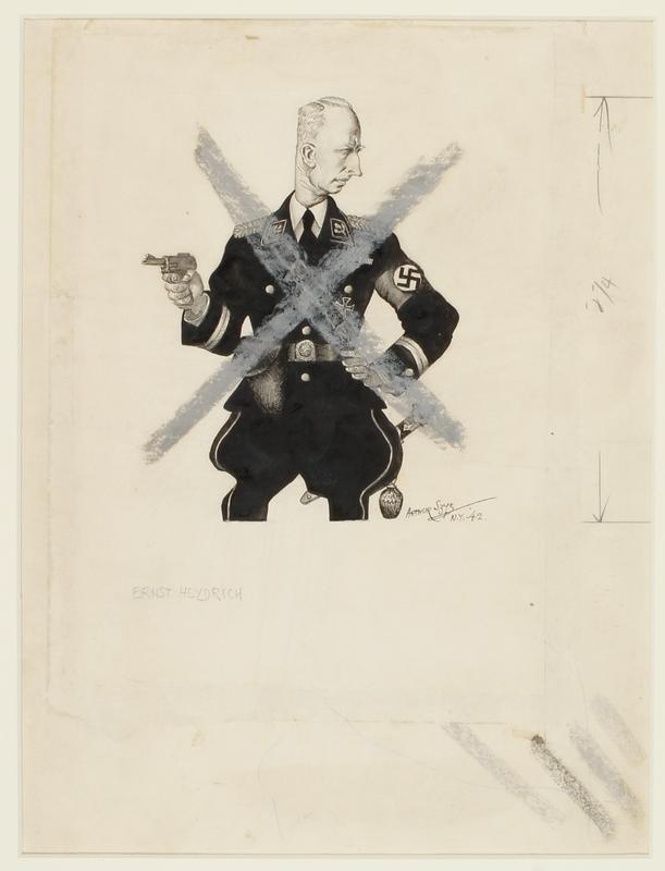 CM_1995.40.28 front Arthur Szyk drawing