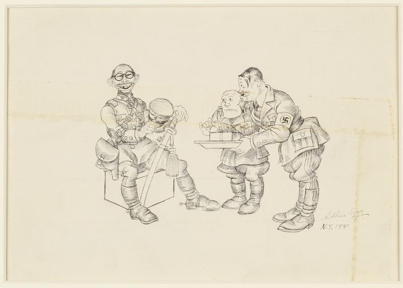 CM_1995.40.33 front Arthur Szyk drawing