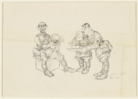 CM_1995.40.33 front Arthur Szyk drawing  Click to enlarge