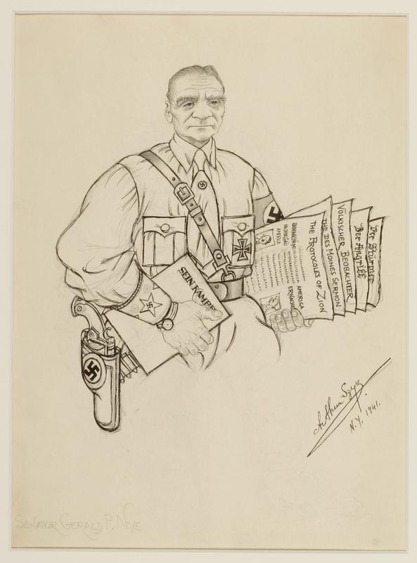 CM_1995.40.34 front Arthur Szyk drawing