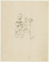 CM_1995.40.35 front Arthur Szyk drawing  Click to enlarge