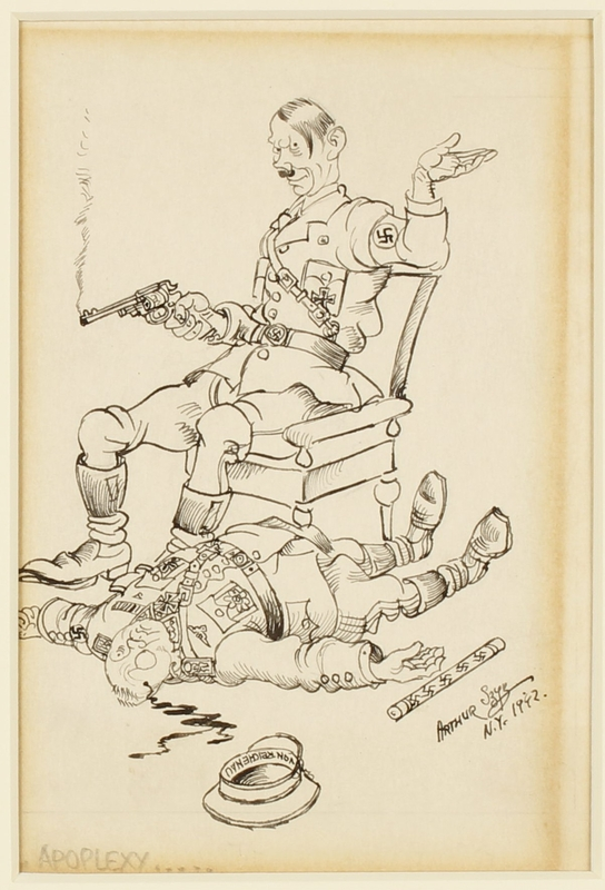 CM_1995.40.38 front Arthur Szyk drawing