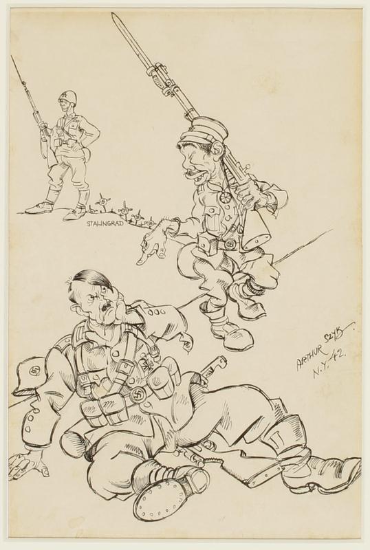 CM_1995.40.40 front Arthur Szyk drawing