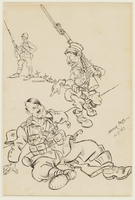CM_1995.40.40 front Arthur Szyk drawing  Click to enlarge