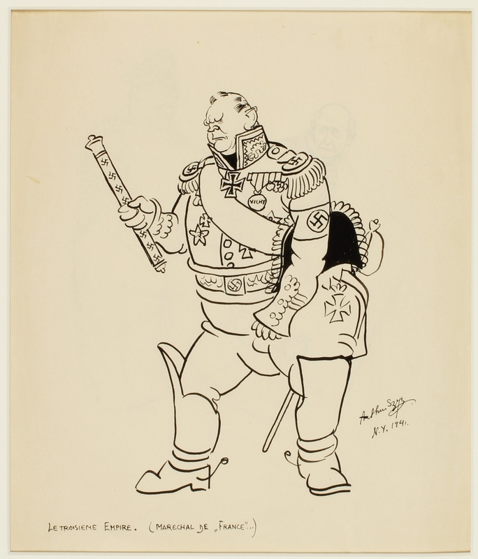 CM_1995.40.41_a front Arthur Szyk drawing