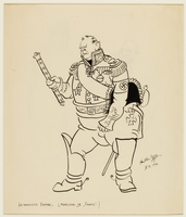CM_1995.40.41_a front Arthur Szyk drawing  Click to enlarge