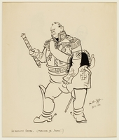 CM front_1995.40.41_b Arthur Szyk drawing  Click to enlarge