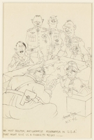 CM_1995.40.45 front Arthur Szyk drawing  Click to enlarge