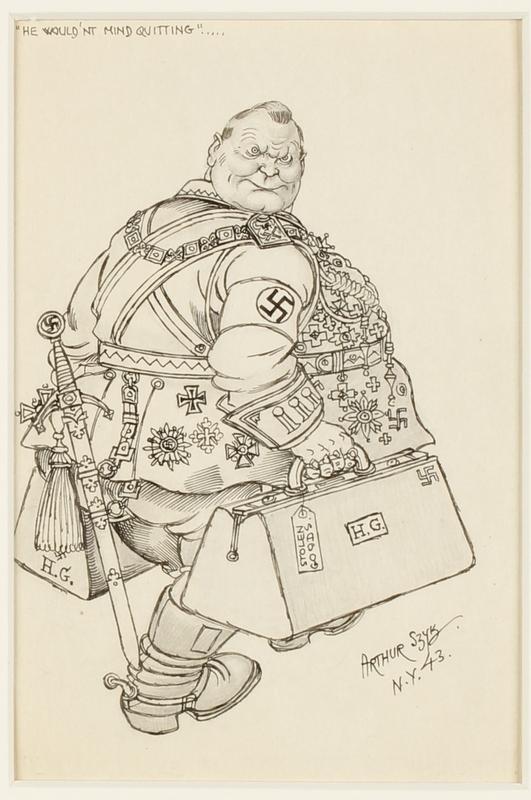 CM_1995.40.46 front Arthur Szyk drawing
