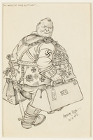 CM_1995.40.46 front Arthur Szyk drawing  Click to enlarge