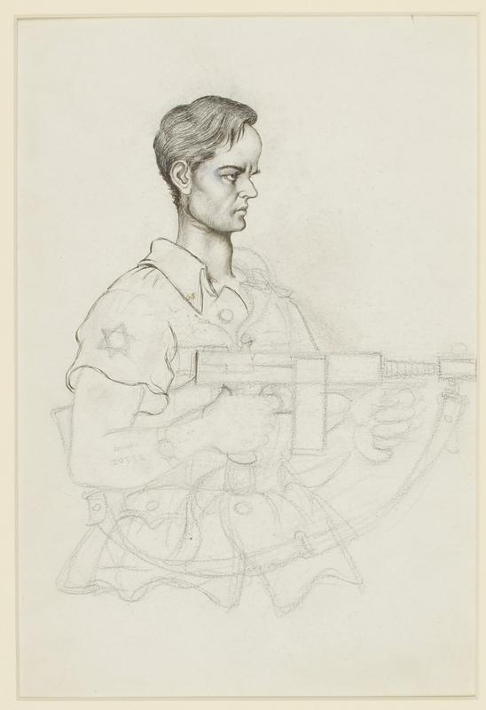 CM_1995.40.48 front Arthur Szyk drawing