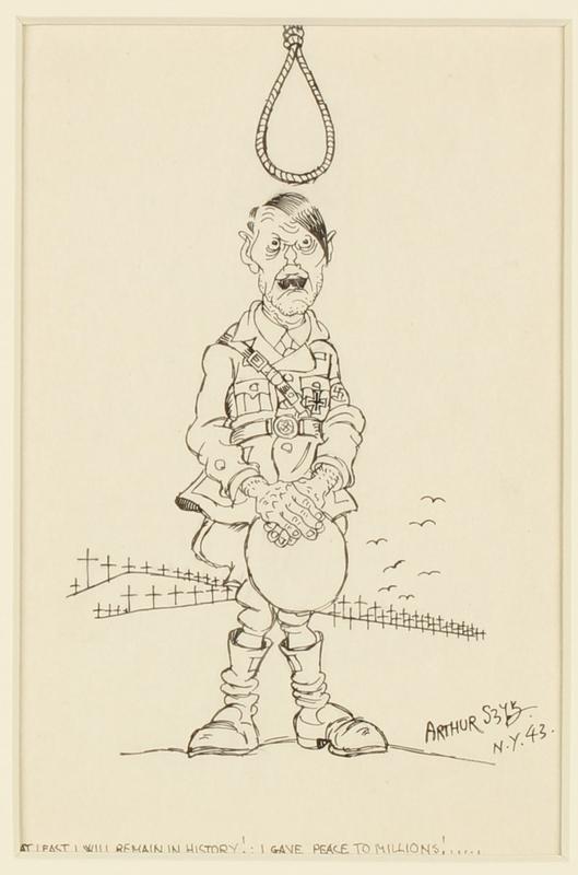 CM_1995.40.51 front Arthur Szyk drawing