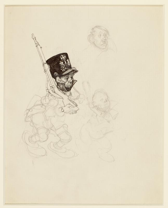 CM_1995.40.52_a front Arthur Szyk drawing