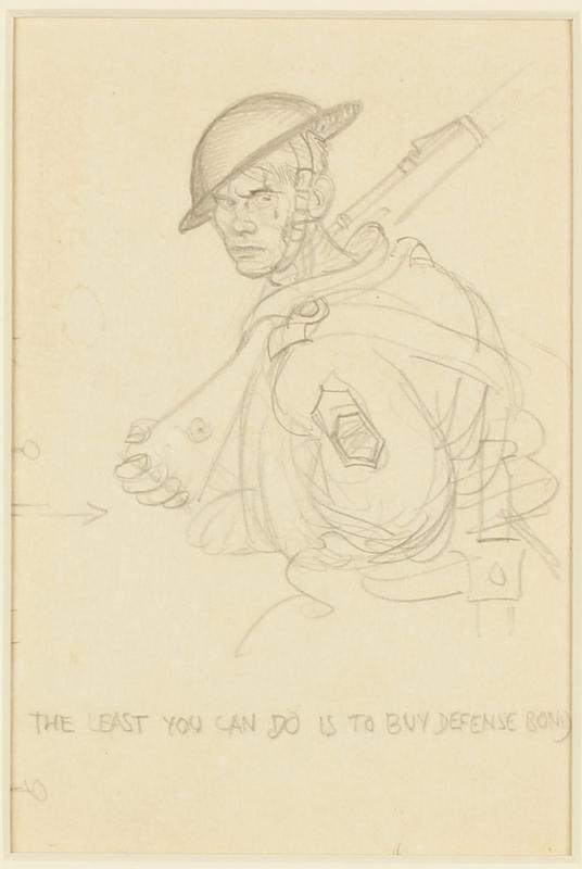 CM_1995.40.53 front Arthur Szyk sketch