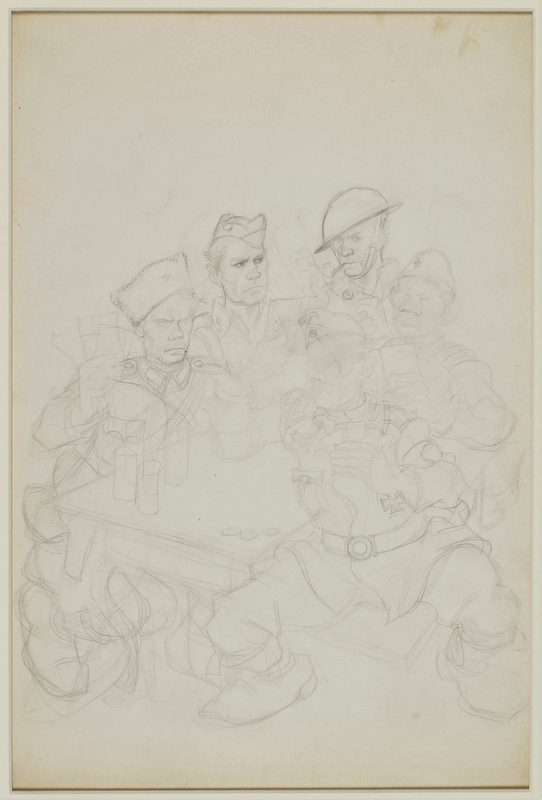 CM_1995.40.54 front Arthur Szyk sketch