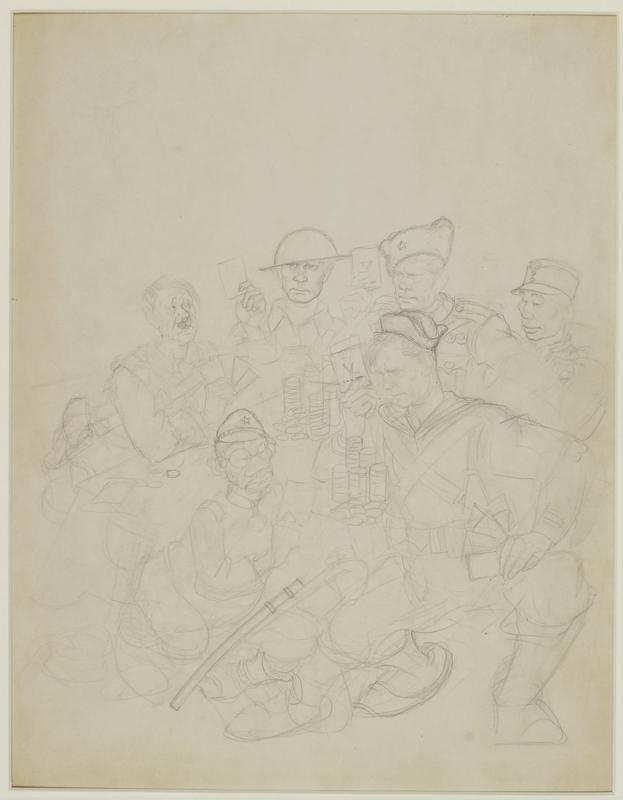CM_1995.40.55 front Arthur Szyk sketch