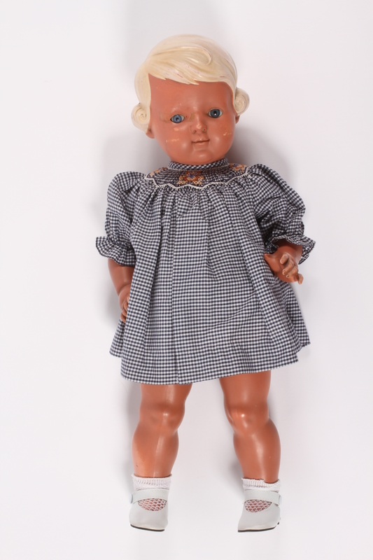 2014.519.2 front Schildkrot doll named Inge given to a toddler in a displaced persons camp