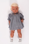 Schildkrot doll named Inge given to a toddler in a displaced persons camp