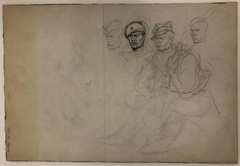 1995.40.56_b front Arthur Szyk sketch