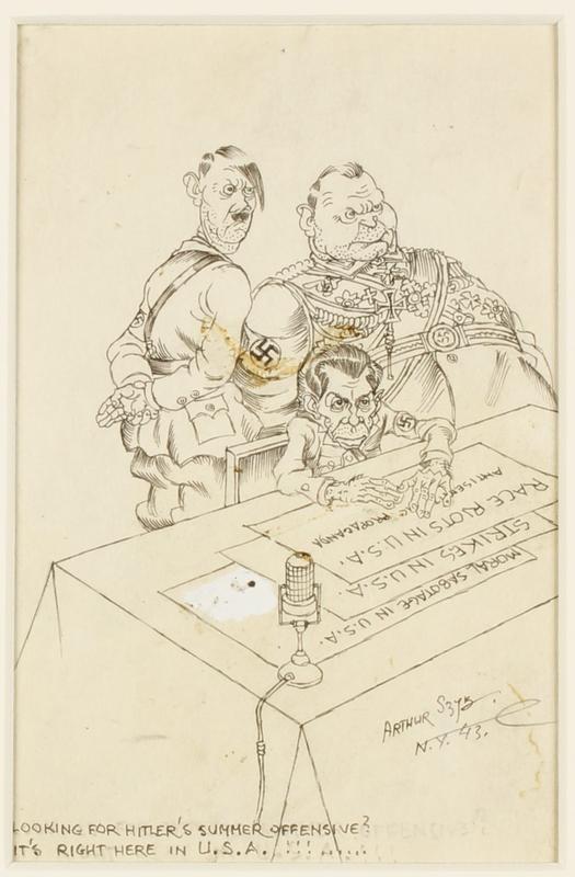 CM_1995.40.59 front Arthur Szyk drawing