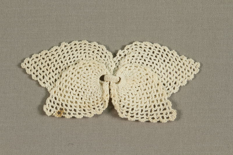 1989.273.8 front Brooch made by Jewish refugees