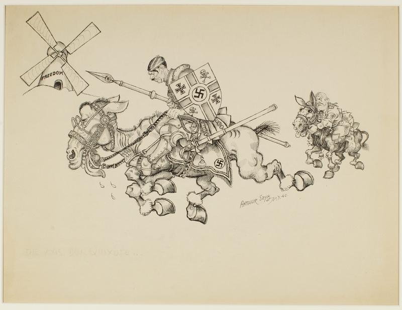 CM_1995.40.65 front Arthur Szyk drawing