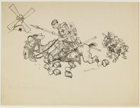 CM_1995.40.65 front Arthur Szyk drawing  Click to enlarge
