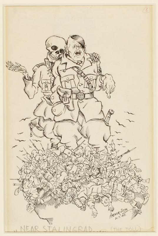 CM_1995.40.67 front Arthur Szyk drawing