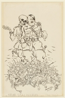 CM_1995.40.67 front Arthur Szyk drawing  Click to enlarge