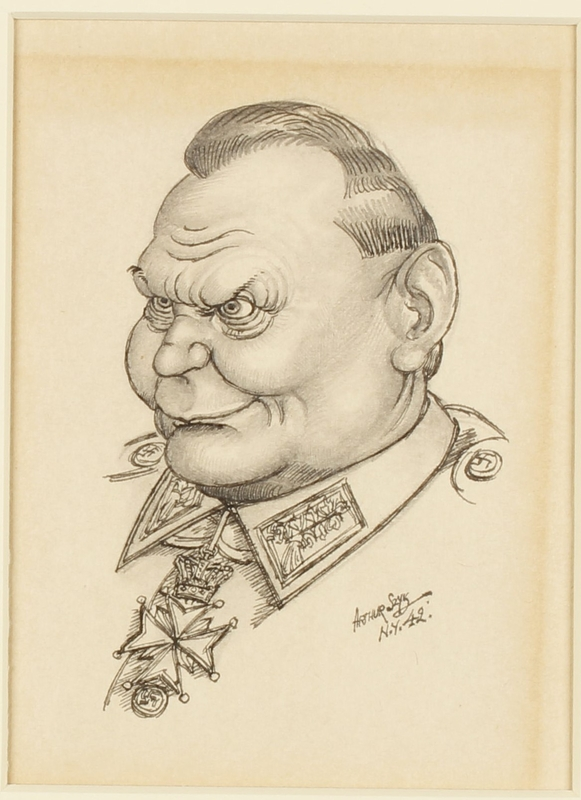 CM_1995.40.69 front Arthur Szyk drawing