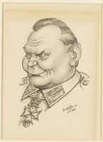 CM_1995.40.69 front Arthur Szyk drawing  Click to enlarge