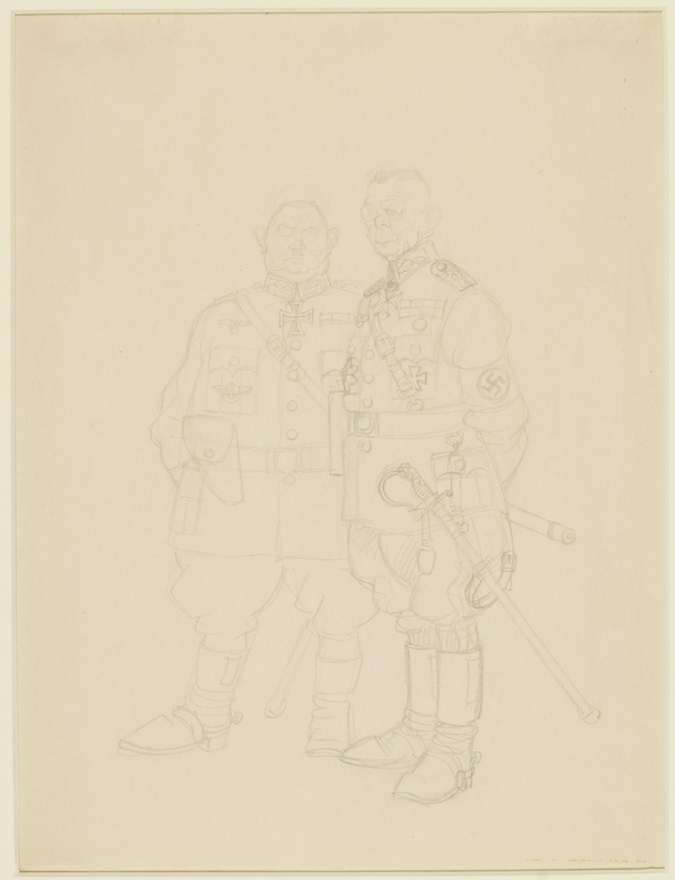 CM_1995.40.73 front Arthur Szyk drawing